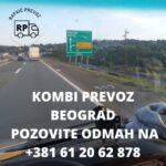 Kombi prevoz Beograd – Prevoz i selidbe Rapaić